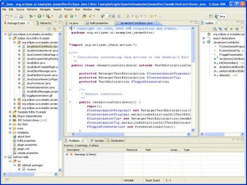 Eclipse SDK 3.4.2