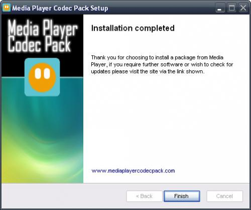 Media Player Codec Pack 3.9.6 - Descargar 3.9.6