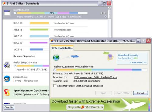 Download Accelerator Plus (DAP) 9.4.0.7 - Descargar 9.4.0.7