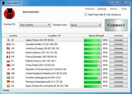 Hide IP NG 1.58 - Descargar NG 1.58