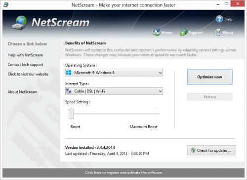 NetScream 1.12.1.2008