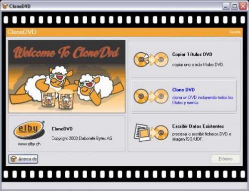 CloneDVD 2.9.2.2 - Descargar 2.9.2.2