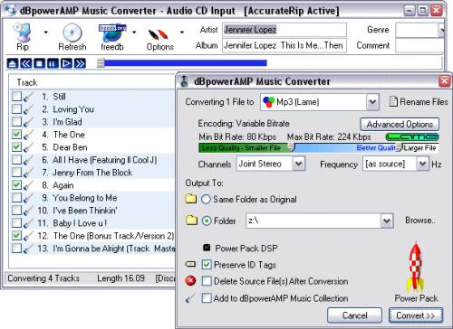 dBpowerAMP Ogg Vorbis Codec Release 19