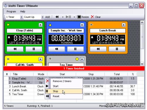 Multi Timer 1.27