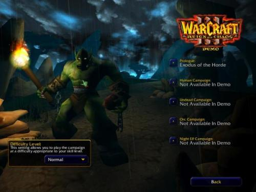 WarCraft III: Reign of Chaos Parche 1.24e - Descargar 1.24e