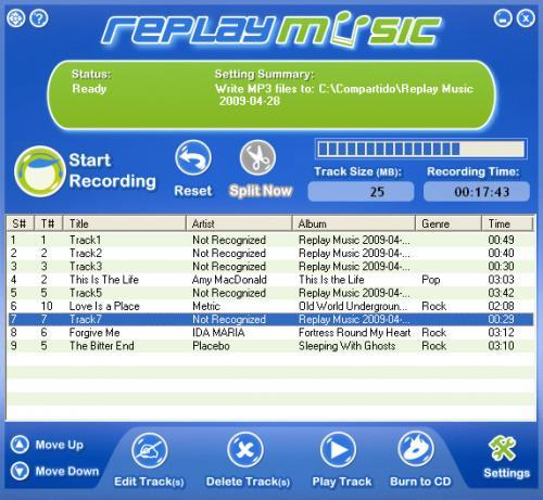Replay Music - Descargar 3.0