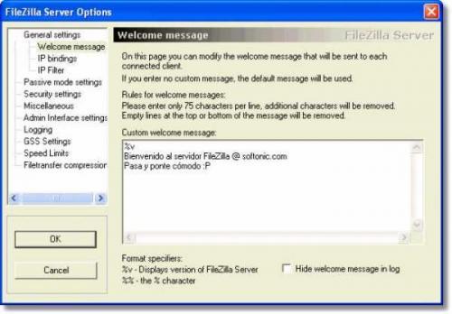 FileZilla Server 0.9.31