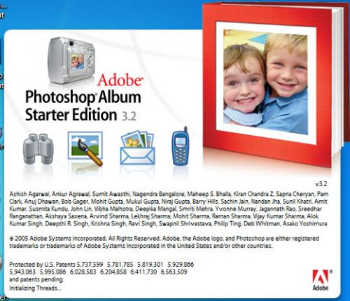 Adobe Photoshop Album SE 3.20 - Descargar 3.20