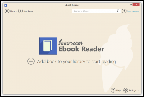 Icecream Ebook Reader 4.20