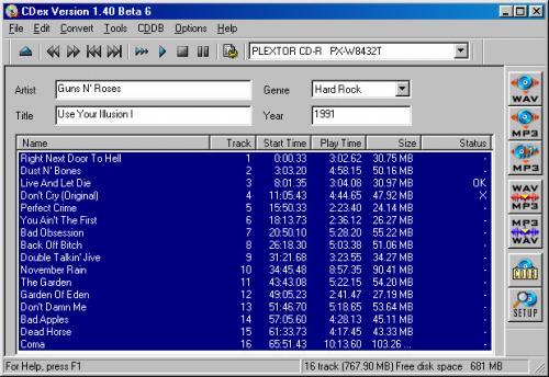 CDex 1.70 b
