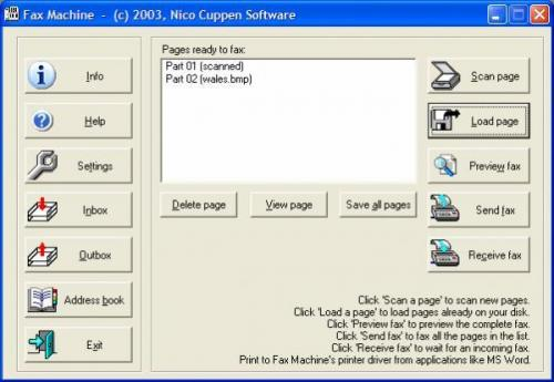 Fax Machine 5.02 - Descargar 5.02
