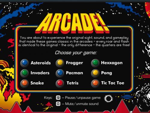 Arcade! Classic Arcade Pack 3.7.0 - Descargar 3.7.0