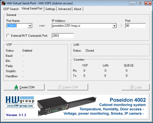 Free Virtual Serial Ports Emulator 0.923.3.694