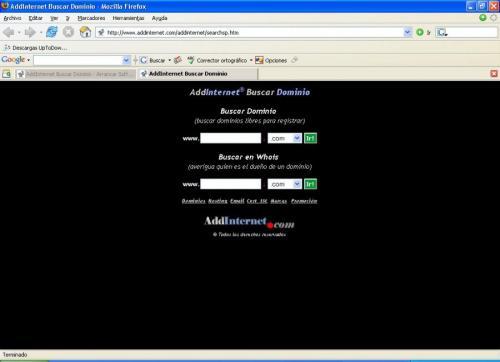 AddInternet Buscar Dominio 1.35