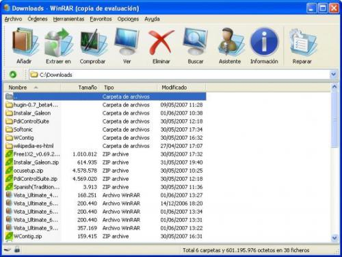 WinRAR Vista Ultimate Theme (64x64) 1.0