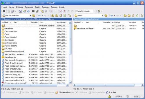 WinSCP Portable 4.1.8