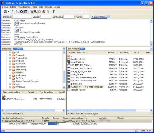 FileZilla Portable 3.2.2.1