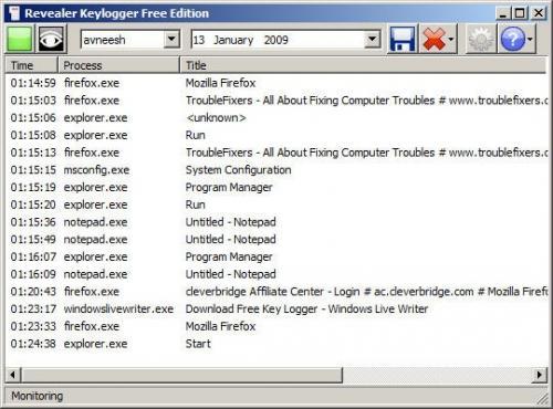 Revealer Keylogger 1.4 Free