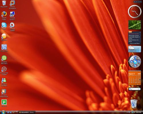Thoosje Vista Sidebar 3.1 - Descargar 3.1