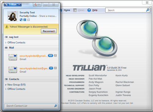 Trillian Basic 3.1.
