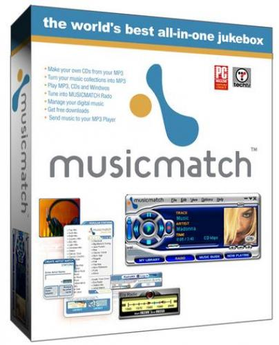 MusicMatch Jukebox 10.00.4033