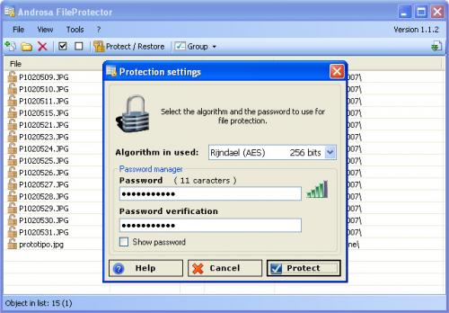 Androsa FileProtector 1.4.3