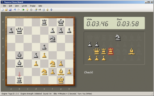Mayura Chess Board 1.0