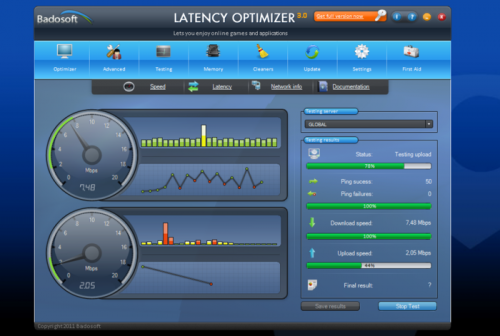 SG TCP Optimizer 2.0.3