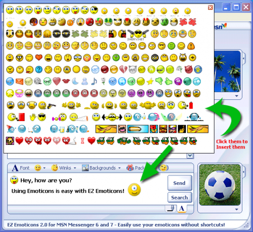Windows Live Messenger Emoticos 1.0.0.1