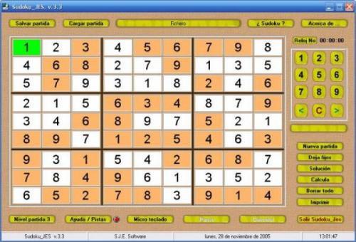 Sudoku Jes - descargar 4.0