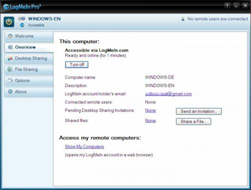 LogMeIn Free - Descargar Free 4.0.784