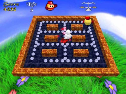 3D Pacman Trial