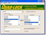 Quad-Lock Unit Converter 5.3